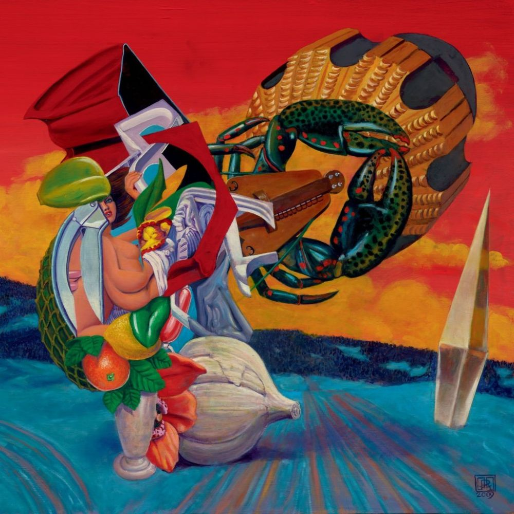 The Mars Volta Octahedron Vinyl Cover Art